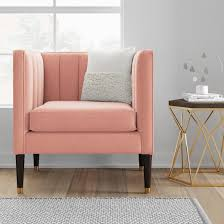 How To Make A Cardboard Chair Soriano Square Arm Channel Tufted Chair Project 62 Target