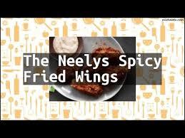 recipe the neelys spicy fried wings