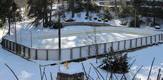 Backyard Ice Rink Kits by Center Ice Rinks