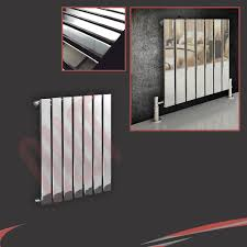 vertical chrome radiators central heating nwt direct