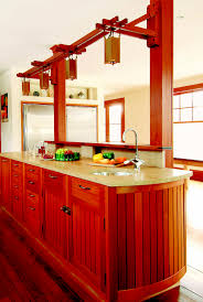 Arts And Crafts Style Kitchen Cabinets Oh Those Revival Kitchens Load Bearing Wall Kitchens And Walls