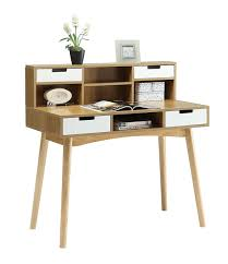 com convenience concepts oslo deluxe desk with hutch kitchen dining