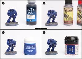 tutorial how to paint ultramarines the stahly way tale of