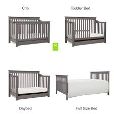 Cribs Convert To Toddler Bed Davinci Piedmont 4 In 1 Convertible Crib With Toddler Bed