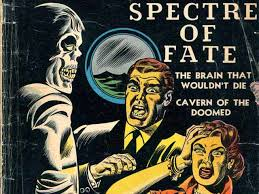 10 spooky halloween themed golden age horror comic book covers