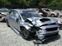 salvage subaru wrx cars for sale and auction
