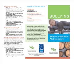 bullying brochure template u2013 11 free pdf documents download