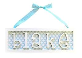 baby name plates best 25 name plaques ideas on wooden name plaques