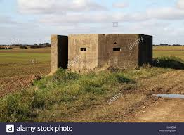 ww2 concrete defense block house stock photo royalty free image