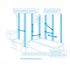 Designer Grab Bars For Bathrooms Amazon Com Moen R8712d3gch 12 Inch Designer Bathroom Grab Bar