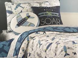 Airplane Bedding Sets by New Sky Hawk Vintage Airplane 5pc Twin Quilt Sheets Decorative