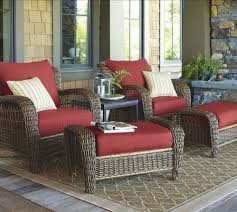 Red Patio Set by Patio Comfortable Patio Furniture Home Interior Design