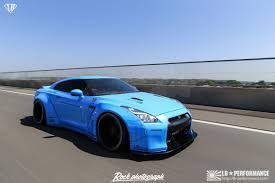 nissan gtr liberty walk blue gt rr nissan gt r liberty walk performance wide body kit price