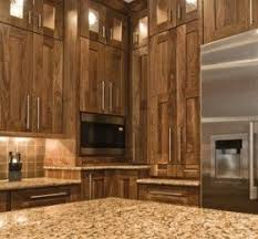 Black Walnut Kitchen Cabinets Black Walnut Cabinets Decor
