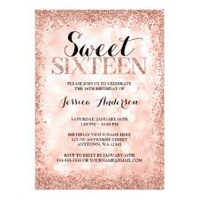 16th birthday invitations u0026 announcements zazzle co uk