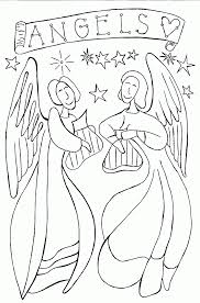 free angel coloring pages letscoloringpages com angel