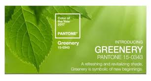 2017 Color Of The Year Pantone Pantone Color Of The Year 2017 Greenery 15 0343 Ashley Lighting