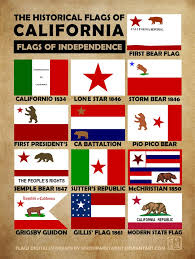 California Bear Flag Republic History Of California Flags By Southparktaoist On Deviantart