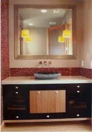 Bathroom With Black Walls Very Simple Small Guest Bathroom Idea With Black Wall Paint