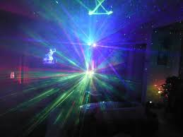 add fog to your light show with laser starfield projectors to make
