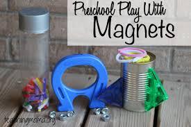 exploring with magnets 4 fun activities for preschoolers