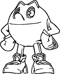 pacman coloring pages pac man coloring pages free printable