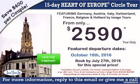 of europe tours europe vacation packages 2015