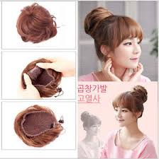 hair pieces for women 100 human hair braided hair bun extensions clip on updo hair