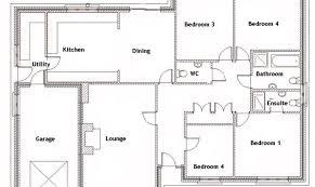 bungalow floor plan 26 perfect images 4 bedroom bungalow floor plans house plans 5704