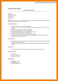 Job Wining Computer Teacher Or by Teacher Resume Format Best Teacher Resume Example Livecareer