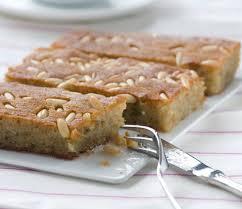 Mediterranean Kitchen Mastic Samali Recipe Extra Syrupy Greek Semolina Cake With Mastic