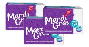 mardi gras napkins yes it s backkk 3 free packs mardi gras napkins overage at
