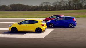 renault clio 2002 modified peugeot 208 gti vs renault clio 200 vs ford fiesta st top gear