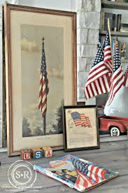 4th Of July Home Decor by Serendipity Refined Blog Farmhouse 4th Of July Foyer Decorating