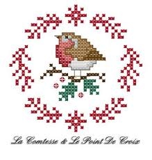 si e croix robin la comtesse le point de croix cross stitch