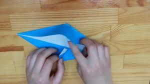 how to fold a dolphin easy peasy youtube