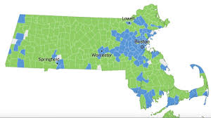 Lowell Massachusetts Map by In A Massachusetts Election Breakdown For 2016 Hillary Clinton