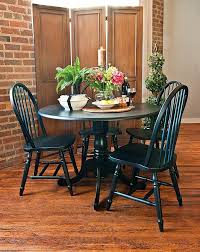 amazon com carolina cottage 42 inch round drop leaf table amazon com carolina cottage 42 inch round drop leaf table antique black tables