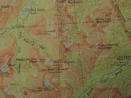 hitheater map fishercap lake glacier explorer