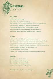 christmas menu word template pitch billybullock us