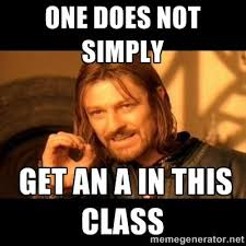 One Does Simply Not Meme Generator - one does not simply meme via meme generator school stuff
