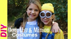 how to make dorothy halloween costume diy minions costumes