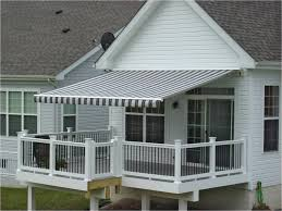 creative awning for patio and deck design home design
