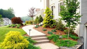 Front Lawn Landscaping Designs by Front Yard Landscaping Ideas By A Trumbull Ct Landscaper Youtube