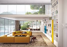 living room slanted wall double height living rooms that add an