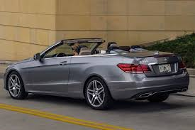 used 2014 mercedes benz e class convertible pricing for sale