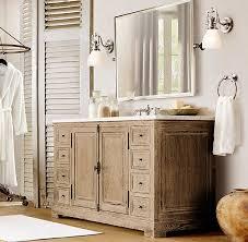Best Restoration Hardware Style Bathroom Vanity Images On - Bathroom vanities with tops restoration hardware
