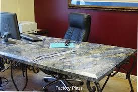 Granite Computer Desk And Quartz Table Tops And Desks In Granite Top Desk