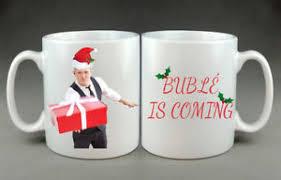 Michael Buble Meme - michael bublé christmas meme funny mug gift birthday present aunt