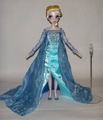 disney store frozen elsa light up shoes elsa deboxed harrods limited edition anna and elsa doll flickr